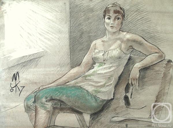 Девушка на кресле картины фото 472-76