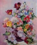 Весенний букет (свободная копия Gyula Siska)
