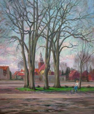 Loukianov Victor. Old trees