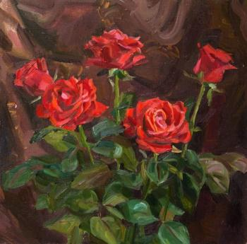 Kharchenko Victoria. Holiday roses