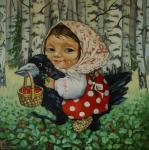 Панина Кира. В лес по ягоды