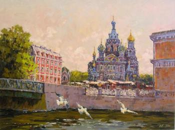 St.Petersburg. Saviour on the Spilled Blood Cathedral (Saviour On Blood). Malykh Evgeny