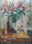 Лукьянов Виктор Евгеньевич. Натюрморт с лилиями