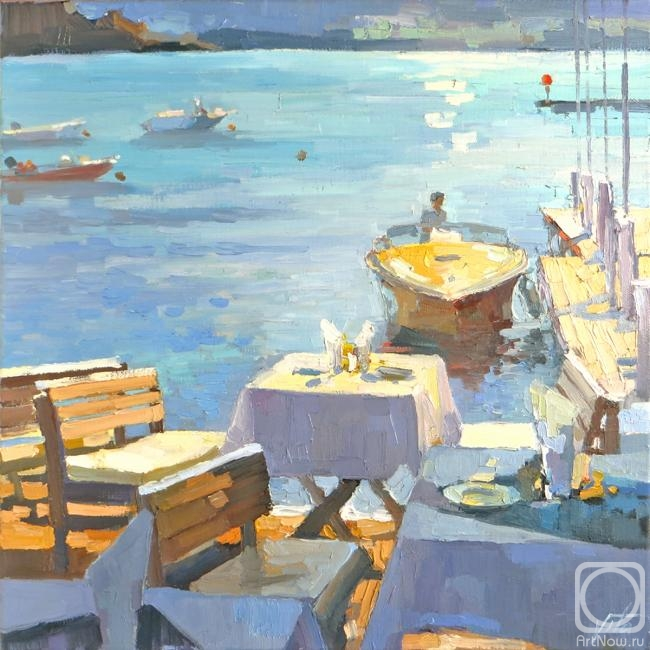 Chizhova Viktoria. Breakfast by the sea
