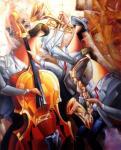 Веселое трио (копия Н.Брутского). Смородинов Руслан