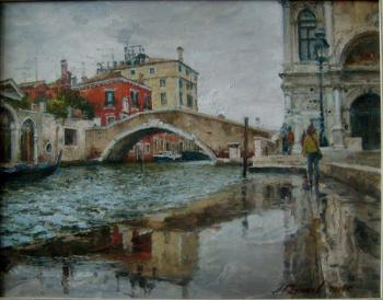 Flood in Venice. Galimov Azat