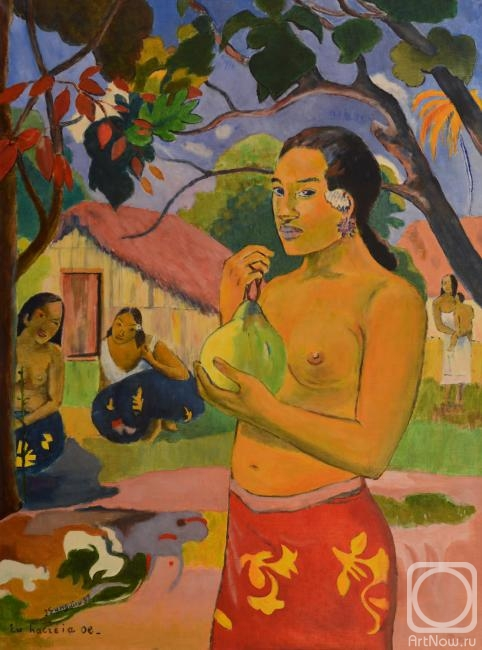 Yaskin Vladimir. Where are you going? (by Paul Gauguin)