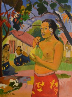 Where are you going? (by Paul Gauguin)