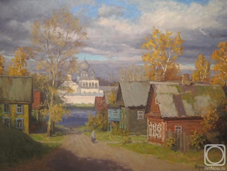Чертов Сергей. Осень в Тихвине