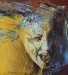 Крик №1 (диптих). Подгаевская Марина
