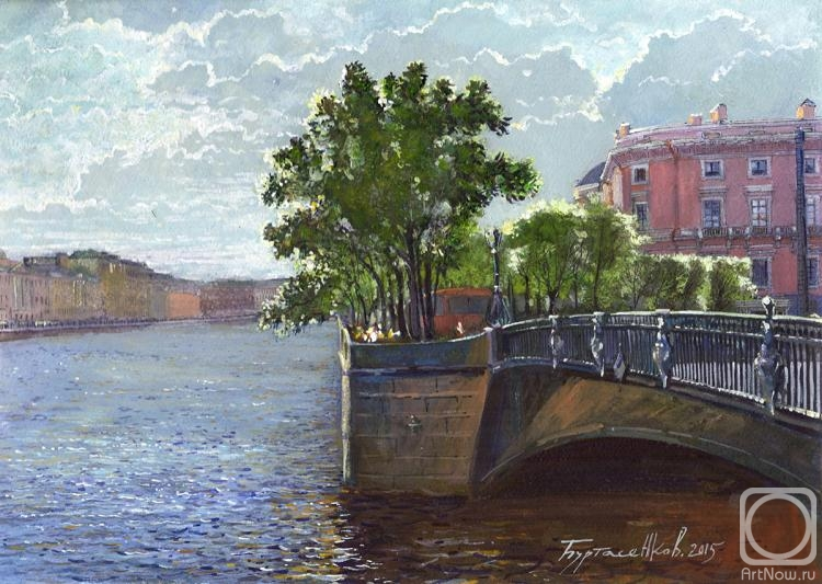 Burtasenkov Alexey. The view from the Panteleimon bridge