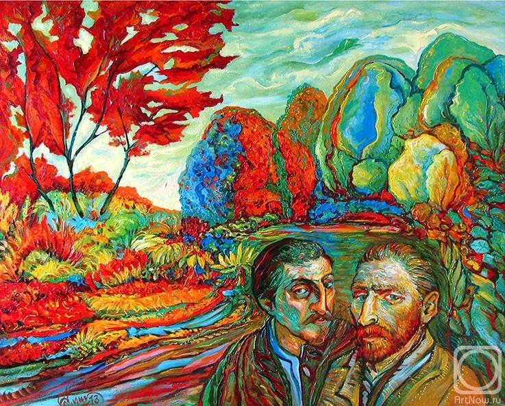 gogen  Painting «Van Gogh & Gogen» — buy on