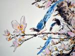 Райские птицы (фрагмент). Мишуков Николай