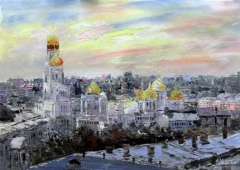 Golden-domed Moscow. Vevers Christina
