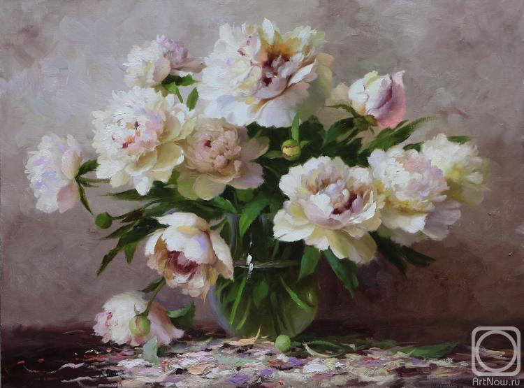 Пионы в живописи русских художников