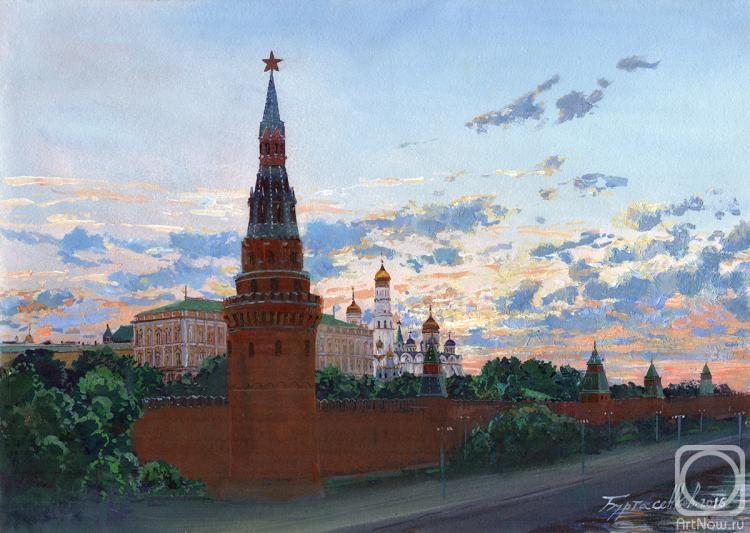 Буртасенков Алексей. Восход над Водовзводной башней