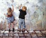Гунин Александр. Рисунки на стене