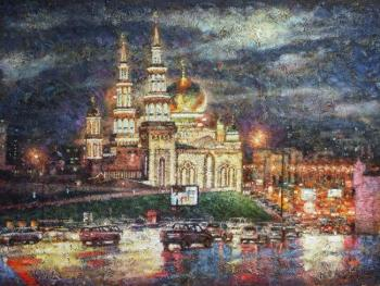 Razzhivin Igor. The Moscow Cathedral mosque
