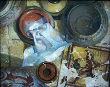 """Greek still life"". Chernykh Valentina"