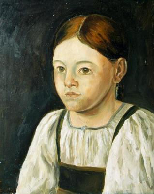 Peasant girl (Copy To Order). Gerasimova Natalia