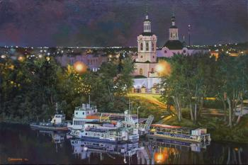 Samokhvalov Alexander. The embankment in Tyumen