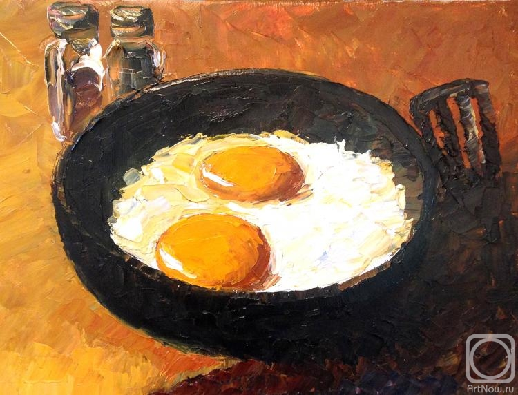 Balantsov Valery. Fried eggs