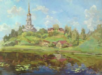 Vedeshina Zinaida. On the Tvertsa river