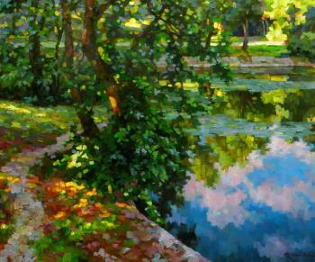 Volkov Sergey. The path along the pond