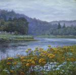 Цветы у реки. Панов Эдуард