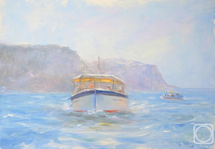 Solovev Alexey. Boats from Balaklava