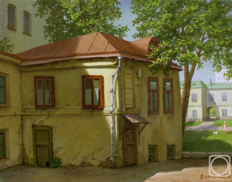 Парошин Владимир. Московский дом