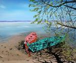 Аронов Алексей. Весенний день на Плещеевом озере