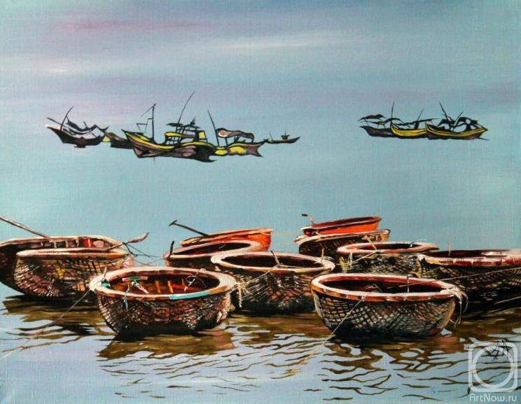 Аронов Алексей. Вьетнам. Лодки