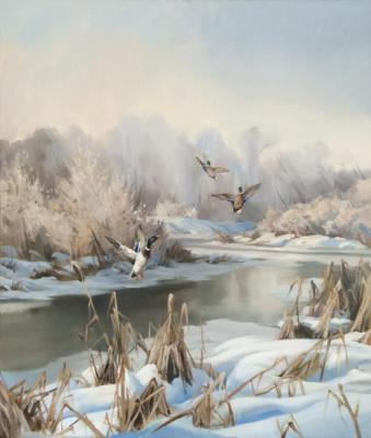 Sumin Denis. Winter landscape