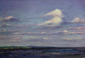 Rumiyantsev Vadim. Cloud above the gulf. Smolyatchkovo