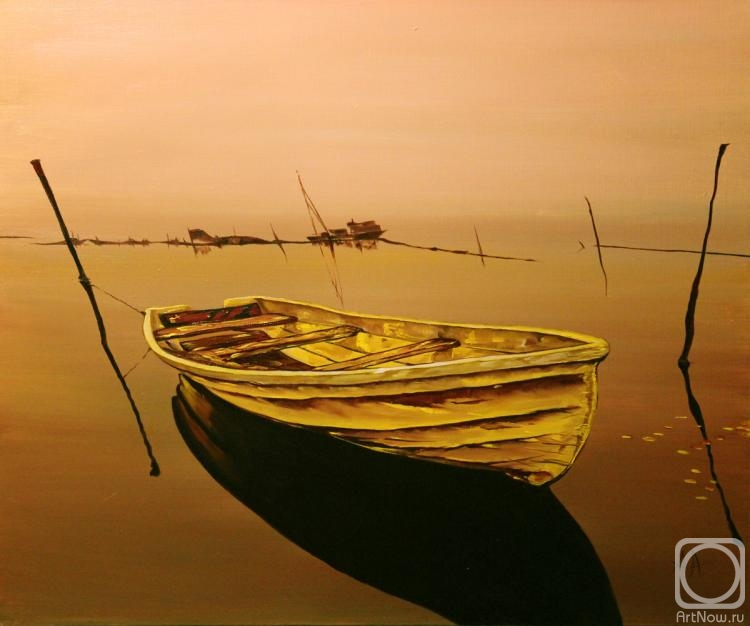 Aronov Aleksey. The Golden boat in a sea of chocolate