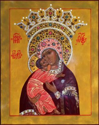 The Volokolamsk Icon Of The Mother Of God Vladimir