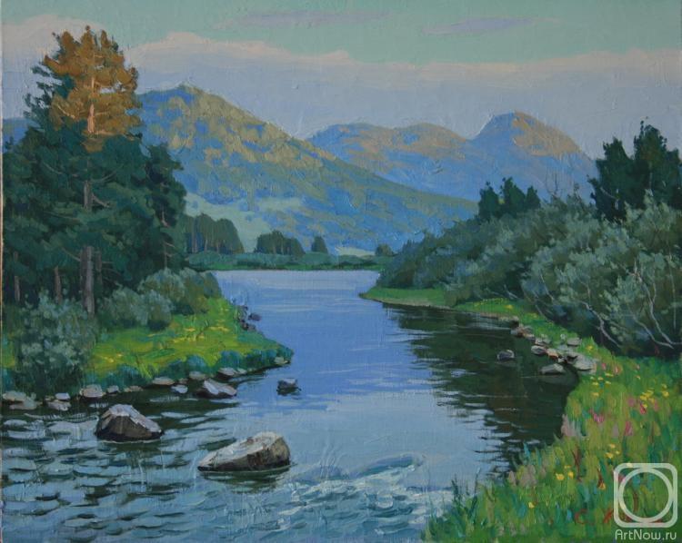 Жук Сергей. Белая река