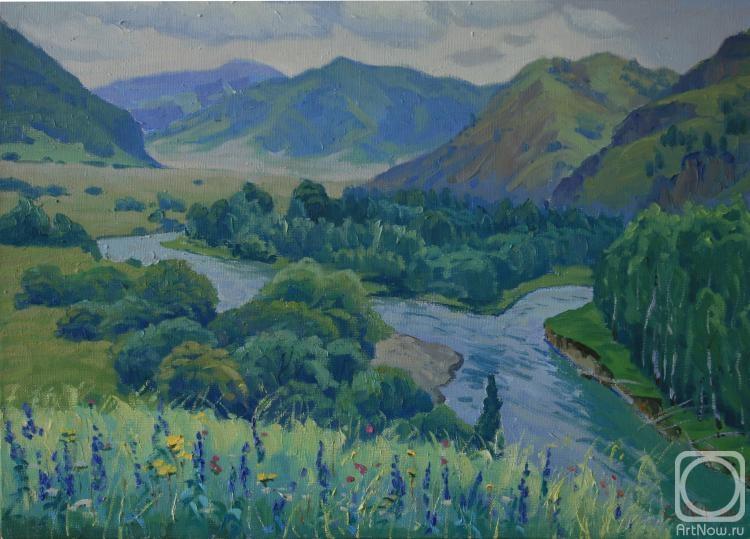 Жук Сергей. Река Иня