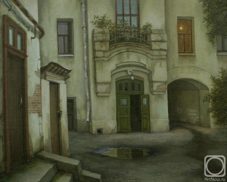 Парошин Владимир. Арбатский двор