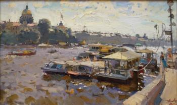 On the Neva river. Lukash Anatoliy