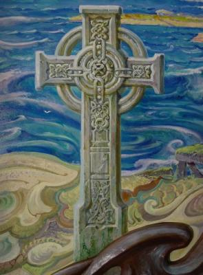 Celtic Cross fragment
