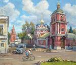 Ковалевский Андрей. Храм Успения Пресвятой Богородицы в Гончарах