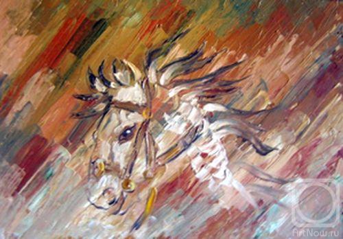 Картины художника огненный конь