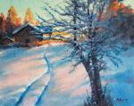 Kremer Mark Veniaminovich. Winter Evening