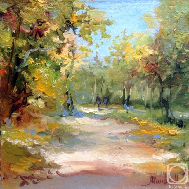Мысова Ирина. Осенний лес