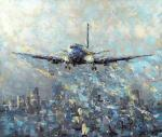 Kustanovich Dmitry. The Plane early in the morning