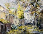 Чарина Анна. Осенний дворик на Волхонке