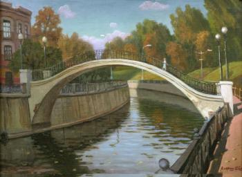 Paroshin Vladimir. The bridge on the Yauza river