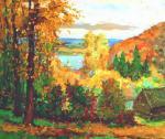 Мишагин Андрей. Полыхает осень разноцветьем красок